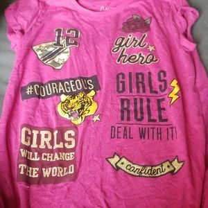 GIRL'S SIZE 16 TOP